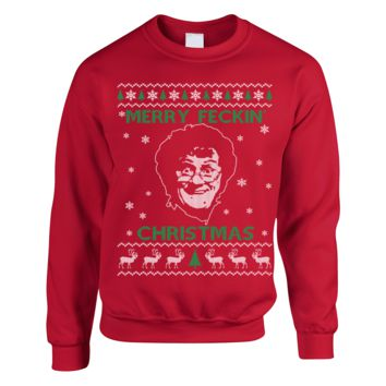 Christmas Ugly Sweater For Larry David Fans