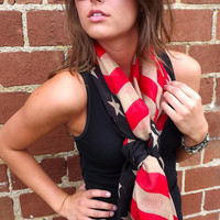 American Flag Scarf | The Rage