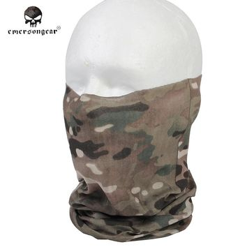 Emerson Fast Dry Multi-functional Hood Mask Camouflage Veil Mesh Scarves Airsoft Tactical Hunting Scarf Men Face Mask EM6628C ^