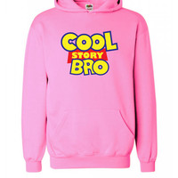COOL STORY BRO TELL IT AGAIN OFWGKTA SWAG Yolo Hoodie S-XXL  - pink  3