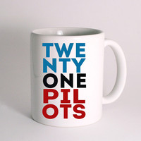 Twenty One Pilots for Mug Design