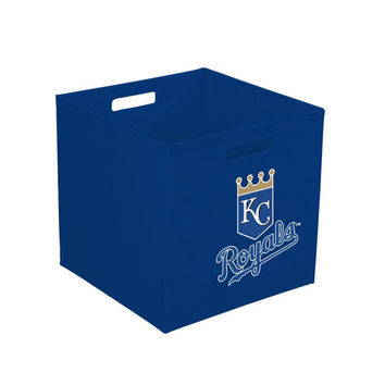 12-Inch Team Logo Storage Cube - Kansas City Royals