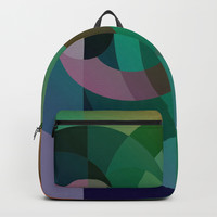 Abstract Sea Sunset Backpack by edrawings38