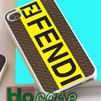 Fendi Logo For Iphone 4/4s, iPhone 5/5s, iPhone 5C, iphone 6, and iPhone 6 Plus Case