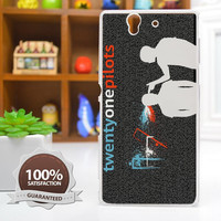 Twenty One Pillots 21 Pilots Silhouette Phone Case For iPhone, Samsung Galaxy, and Sony Xperia