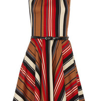 Multi flared belted dress - Clothing - Dorothy Perkins