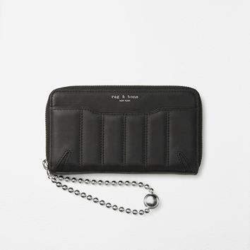 Shop the Devon Mobile Zip Wallet on rag & bone