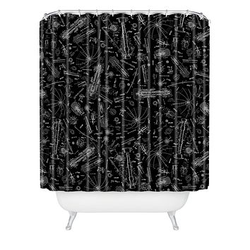Caroline Okun Parasol Shower Curtain