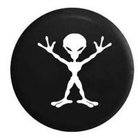 Alien Outerspace RV Camper Jeep Spare Tire Cover