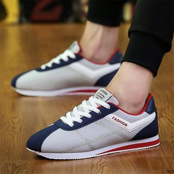 Men'a British Canvas Sneakers