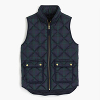 Black Watch excursion quilted vest