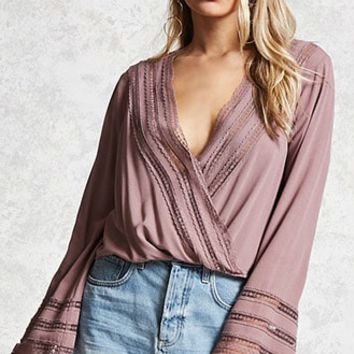 Contemporary Surplice Blouse