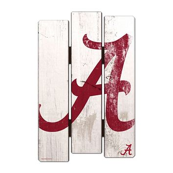 Alabama Crimson Tide De-Fence 11x17 Wood Sign