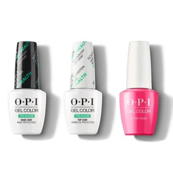 OPI - GelColor Combo - Base, Top & V-I-Pink Passes