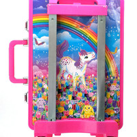90's Lisa Frank Rainbow Running Ponies Rolling Case