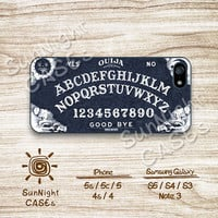 Ouija Board, Vintage, Spirits, iPhone 5 case, iPhone 5C Case, iPhone 5S case, Phone case, iPhone 4 Case, iPhone 4S Case, Phone Skin, OB02