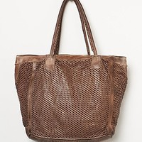Free People Womens Torres Leather Tote