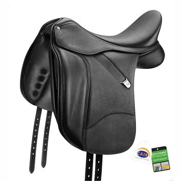 Bates (CAIR) Dressage Plus Saddle with Luxe Leather