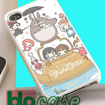 Studio Ghibli For Iphone 4/4s, iPhone 5/5s, iPhone 5C, iphone 6, and iPhone 6 Plus Case