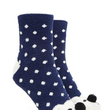 Fleece Polar Bear Socks