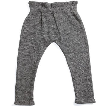 Omamimini Pleated Knit Pant