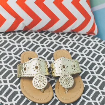Boho BB Sandal Kids - Gold