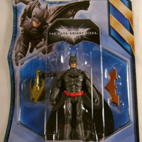 Batman Dark Knight Rises Ultra Blast DC Comics Mattel Action Figure Collectible