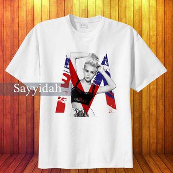 Miley Cyrus You Can't Twerk with us logo , T-Shirt Beautyful Design By : Sayyidah