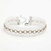 Free People Abbey Fishnet Choker