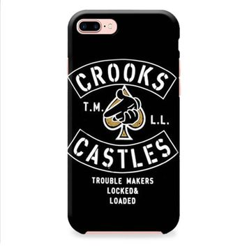 Crooks Castles Air Gun Spades iPhone 8 | iPhone 8 Plus Case