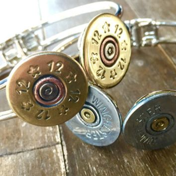 12 Gauge Double Shot Hinged Bracelet