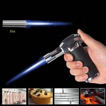 Torch Lighter with Adjustable Flame