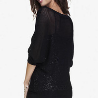 mesh dolman sweater from EXPRESS