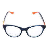 Dark Blue Gradient Temple Unisex Eyeglasses