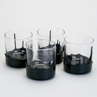 Drippy Dipped Whiskey Glass Set of 4