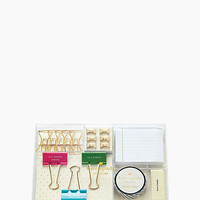 Kate Spade Whistle While You Work Tackle Box Clear ONE