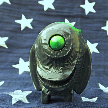 Cyril the Cyclops Custom Alien Zombie figure.