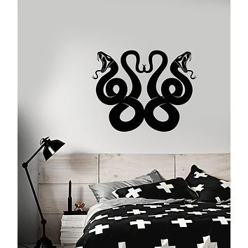 Vinyl Wall Decal Celtic Snake Ornament Animals Stickers (3940ig)