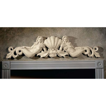 Park Avenue Collection Mermaid Pediment