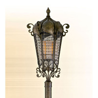 Corbett 110-83 Tangiers Bronze Four-Light Post Mount Lantern