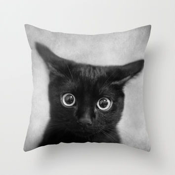 What!? Throw Pillow by SensualPatterns