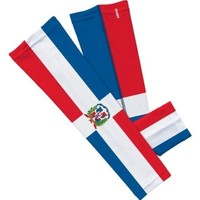 Dominican Republic Flag Arm Sleeve S/M 2-pack