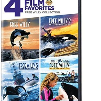 Bindi Irwin & Jason James Richter & Will Geiger & Sam Pillsbury-4 Film Favorites: Free Willy (Free Willy, Free Willy 2: The Adventure Home, Free Willy 3: The Rescue, Free Willy 4)