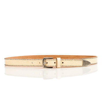Vintage Embossed Studded Hip Belt