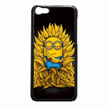 Minions Banana 25b39faf-67e9-46e6-9565-4899c157786e FOR iPhone 5C CASE *NP*