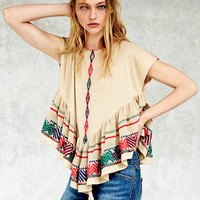 Free People Womens Windows to the World Dress - S
