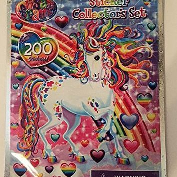Lisa Frank Stickers Collectors Set 200 Count
