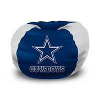 Dallas Cowboys NFL Team Bean Bag (96 Round)