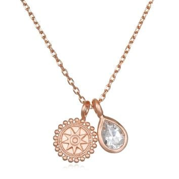 Higher Consciousness Rose Gold Necklace