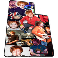 ED SHEERAN COLLAGE PHOTO 8034a1dd-96e5-48ac-ab58-58d335c7c052 for Kids Blanket, Fleece Blanket Cute and Awesome Blanket for your bedding, Blanket fleece *AD*